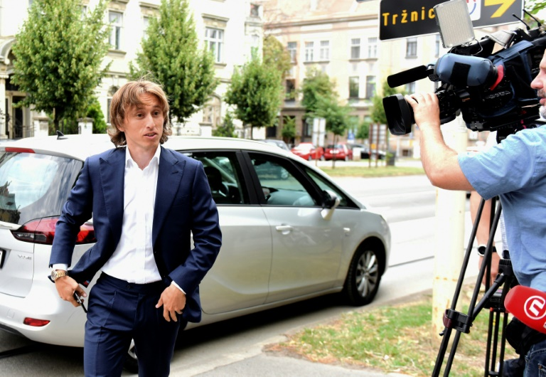Luka Modric charged with perjury in Zdravko Mamic trial