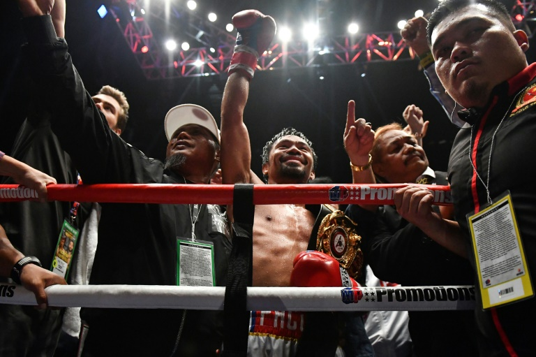 Manny Pacquiao is hoping to open a new chapter in his long career
