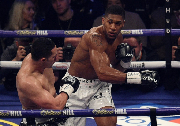 Anthony Joshua launches expletive-laden tirade at Jarrell 'Big Baby' Miller