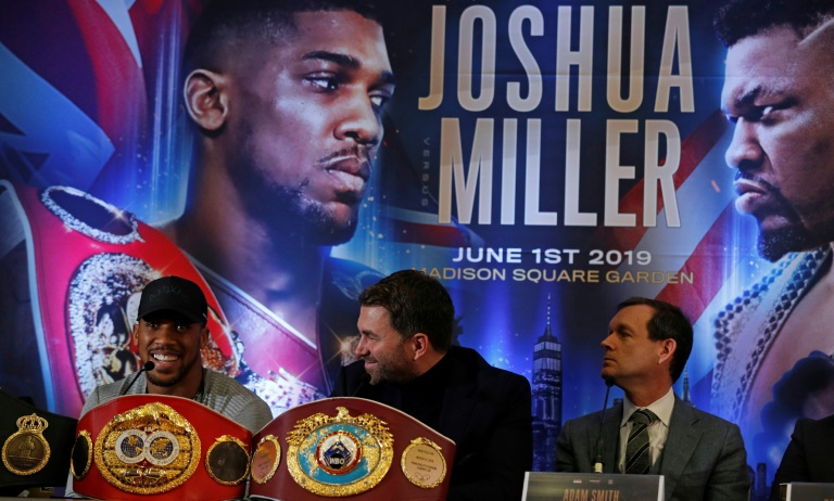 2e1c6040aa5ccc1b893ba2bb01b4376129527b11 - Joshua vows to 'strip Miller of his soul' in heavyweight bout