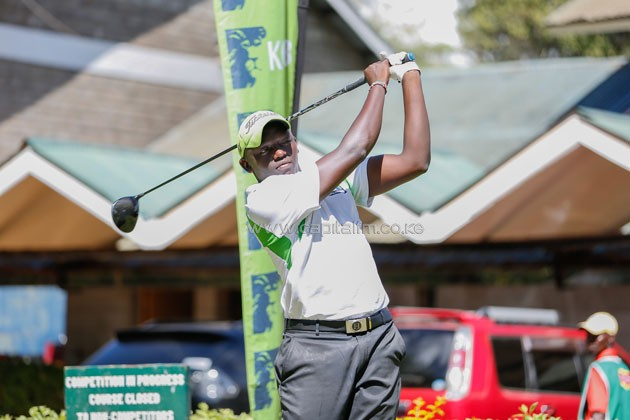 wagai swing - Wangai sets sights on KCB Karen Masters title