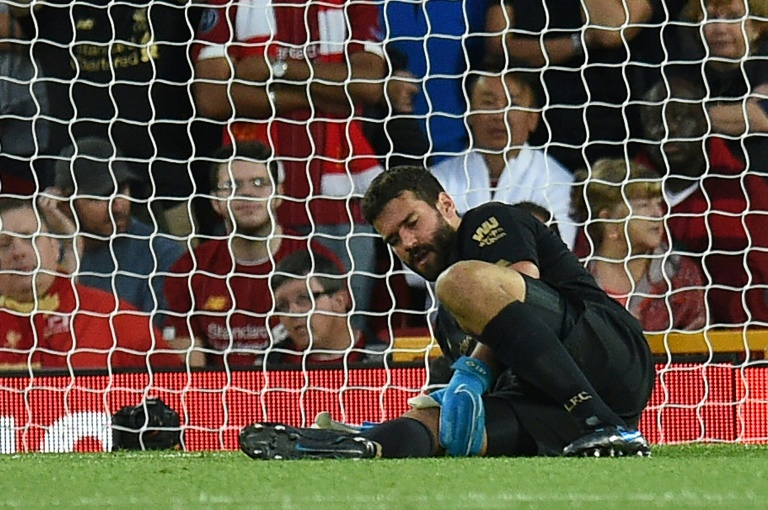 e1c7e4ebbeed7c85838fea86c1ce0cc9de49f71e - Liverpool keeper Alisson out for 'next few weeks' says Klopp