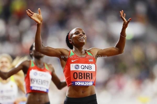 Obiri2 - I wanted to fly home after losing 10k- Obiri