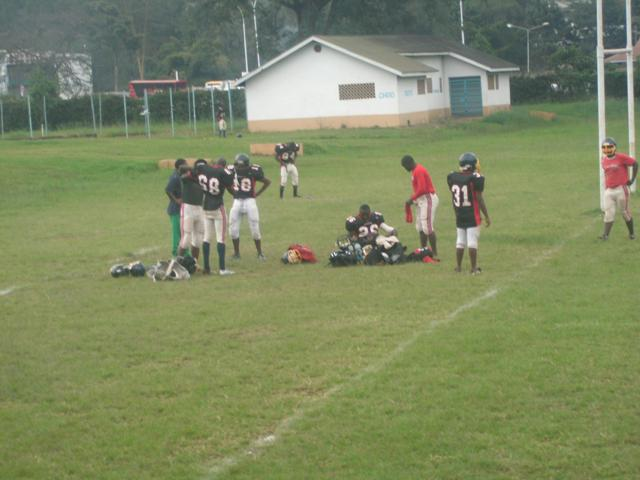 UoN team before game