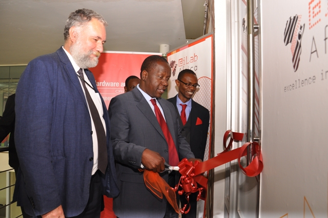 Cabinet Secretary launching Strathmore Centre of Excellence for Oracle (2)
