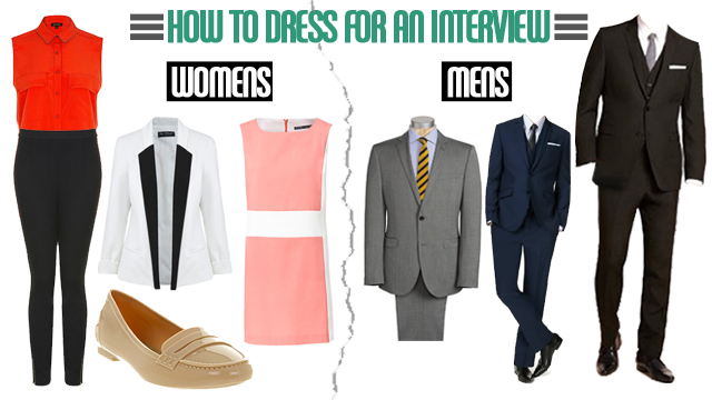 8c357c767fd How you should dress for a job interview - The Sauce