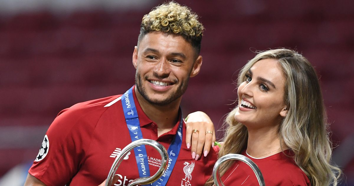 Chamberlain and Perrie Edwards