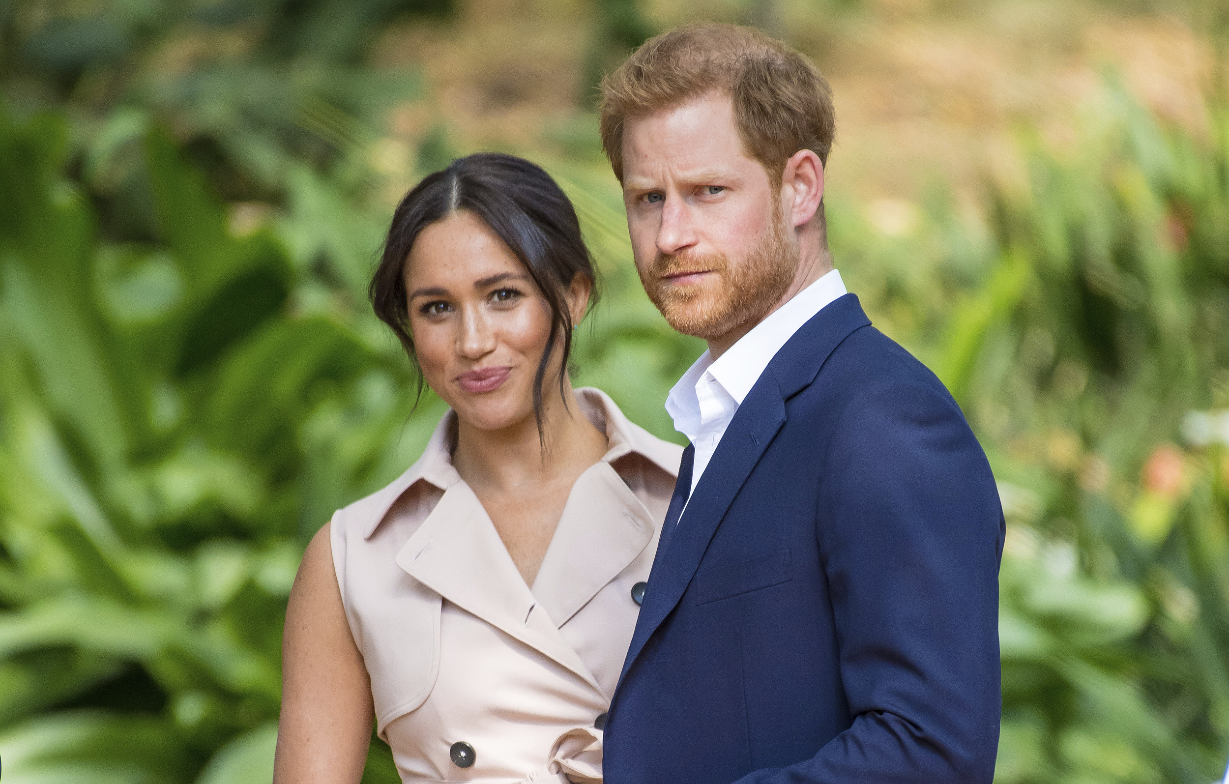Prince Harry and Meghan Duchess of Sussex visit to Johannesburg,
