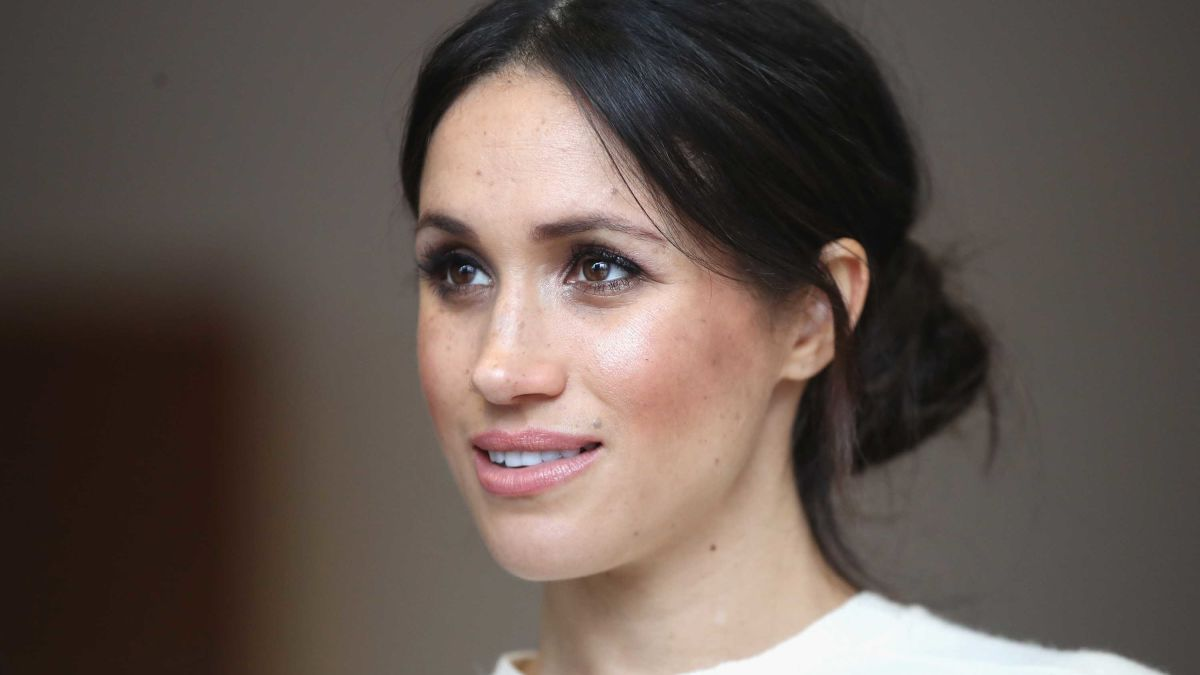 Meghan Markle upclose