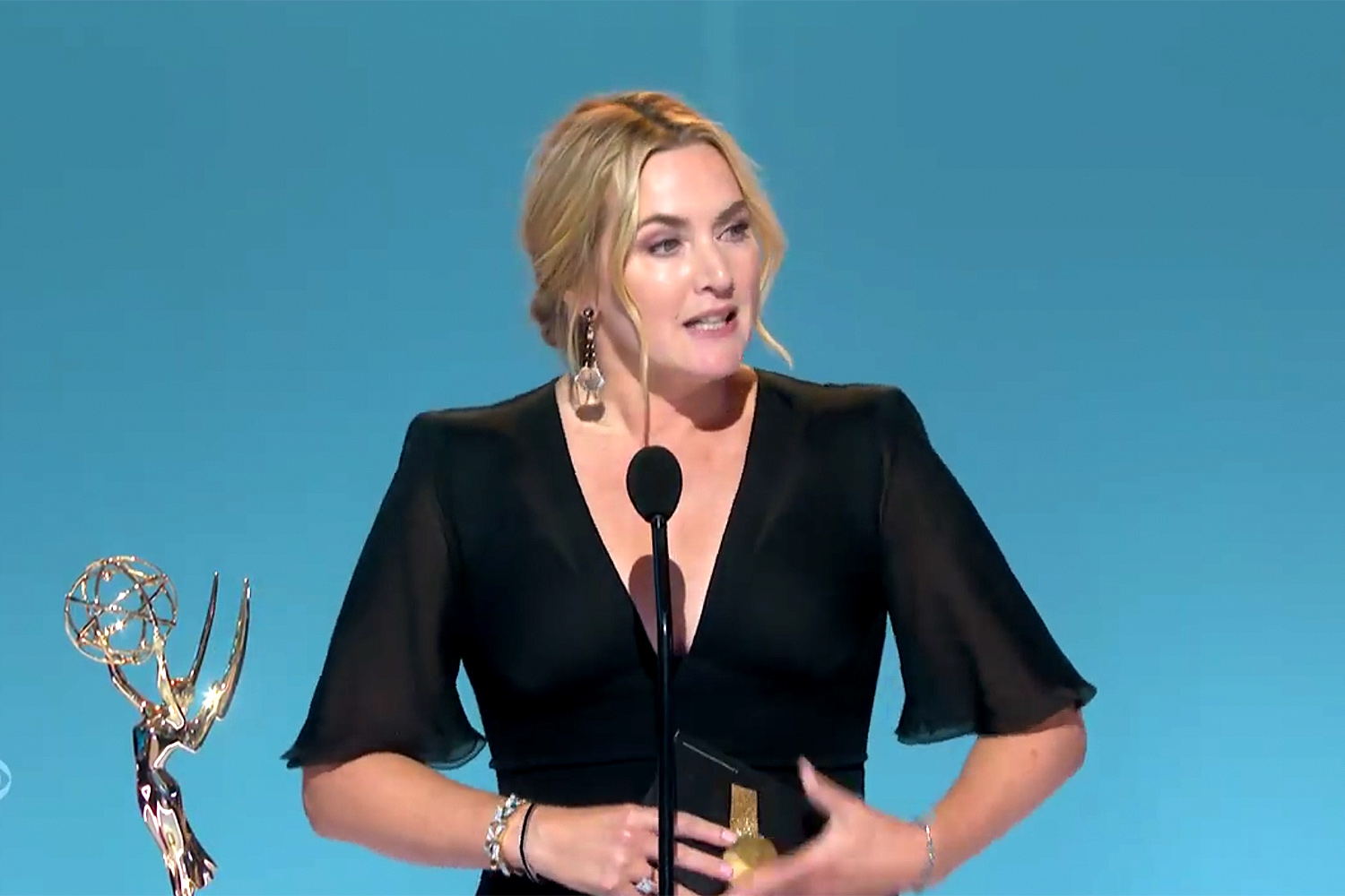 Kate Winslet Lead actress in a limited series or a movie Emmy award.
